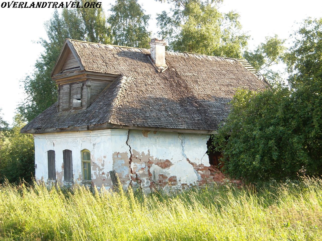 Russia, village of Shchuchye Ostashkov district of Tver region.