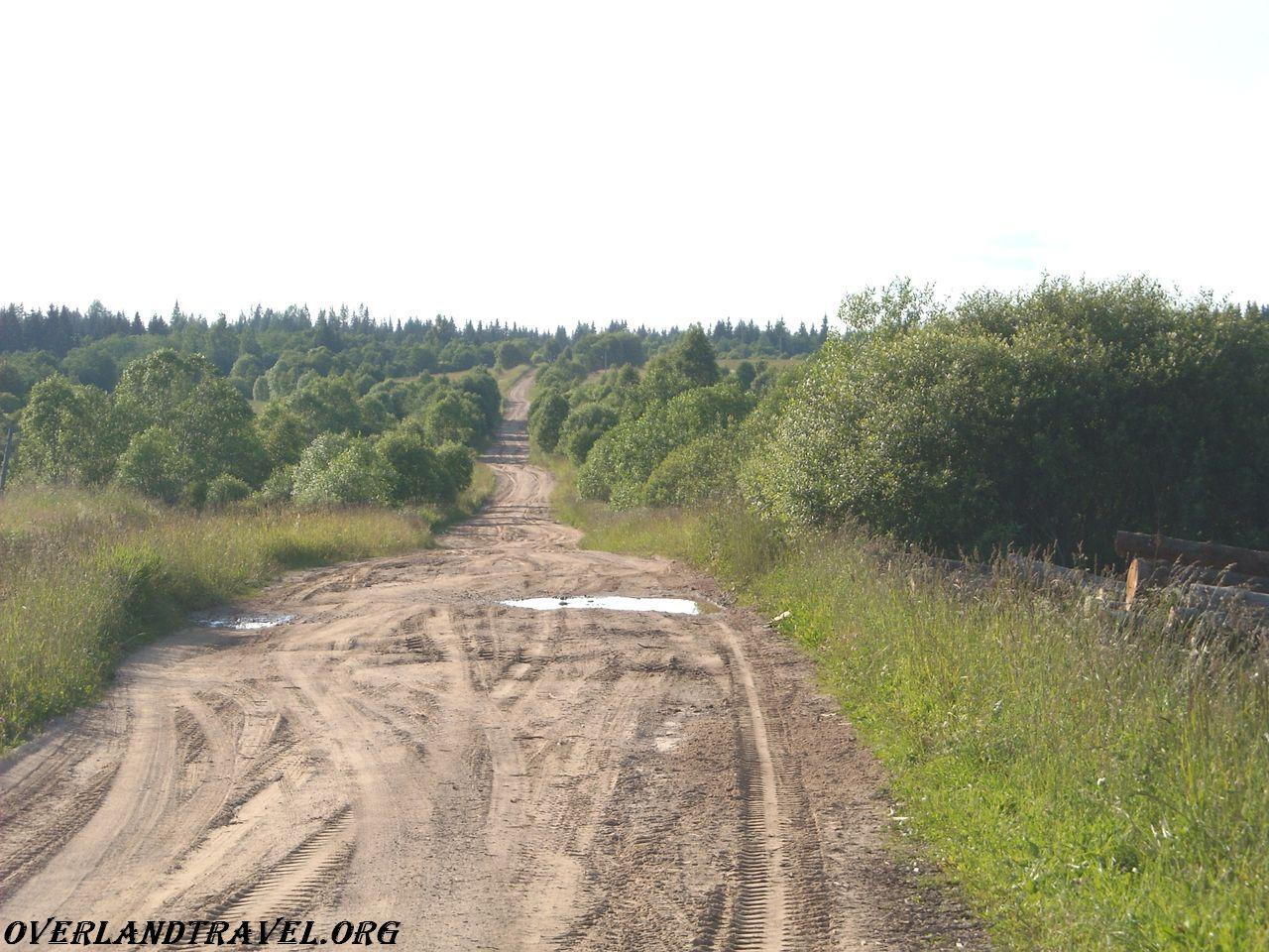 Russia, village of Shchuchye Ostashkov district of Tver region.