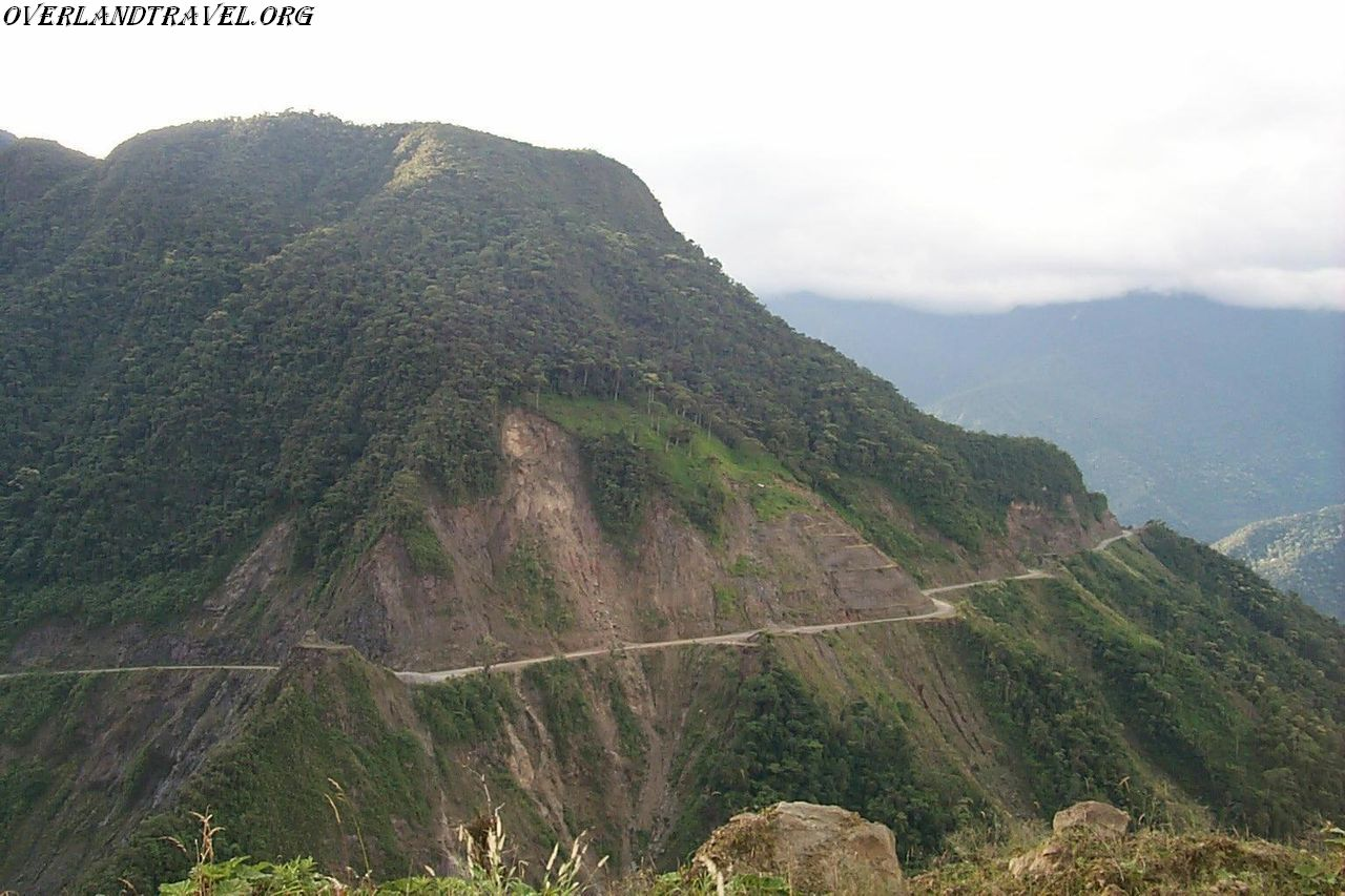 Ecuador, Cuenca road to the east