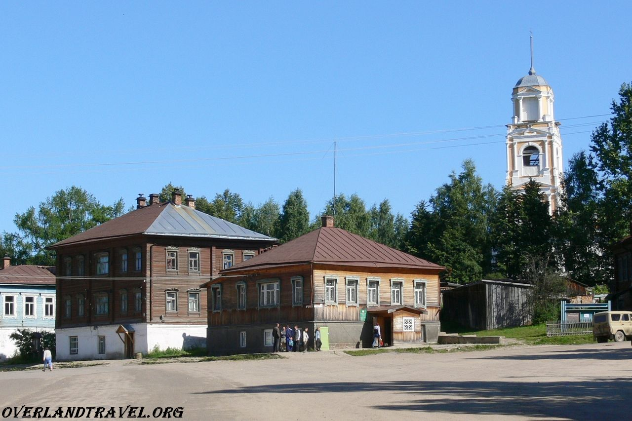 Kologriv located in the northeast of the Kostroma region.