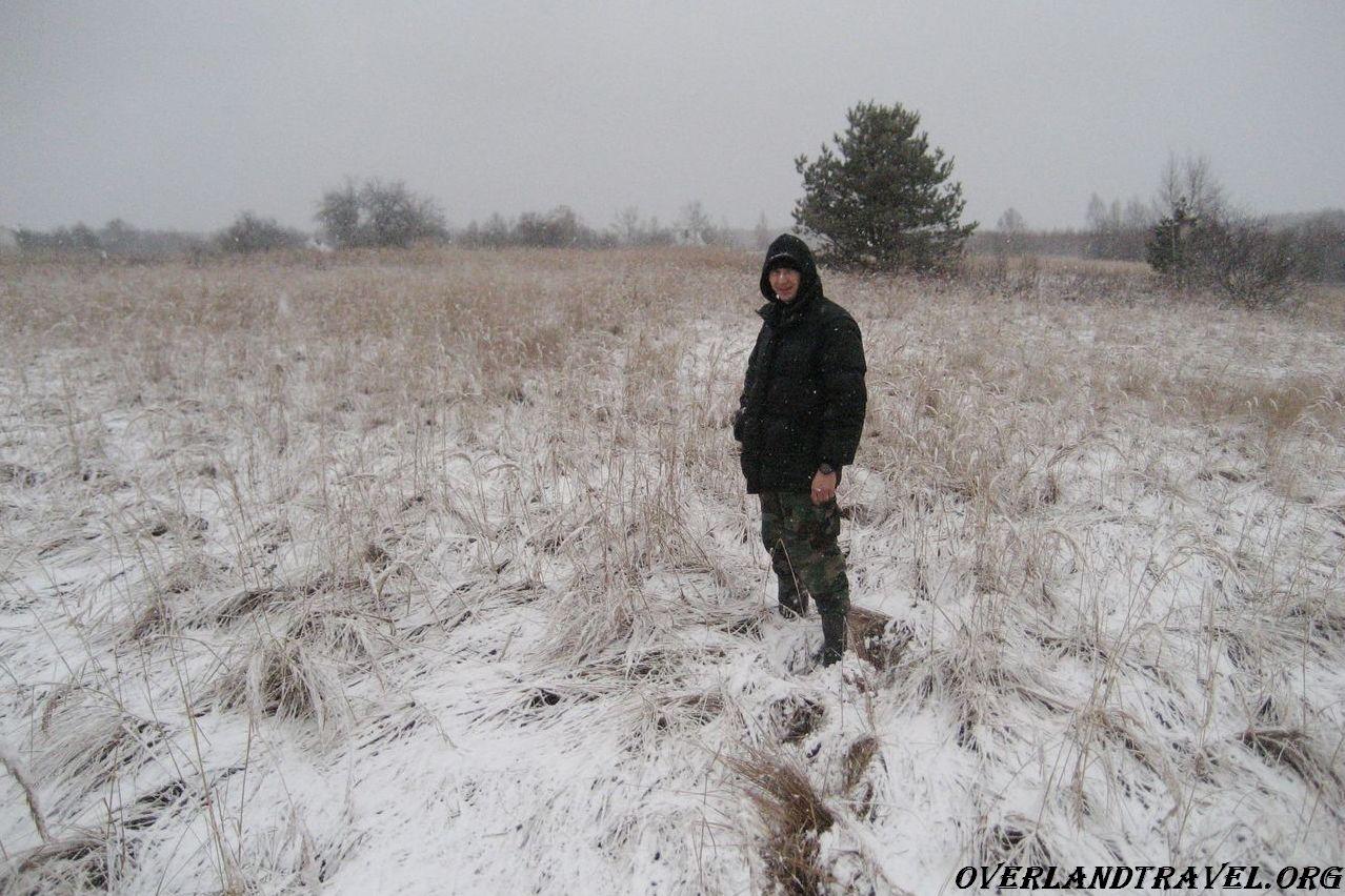 Russia, Smolensk region, abandoned village Zholobovo.