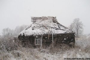 Russia, Smolensk region, an abandoned village Zholobova