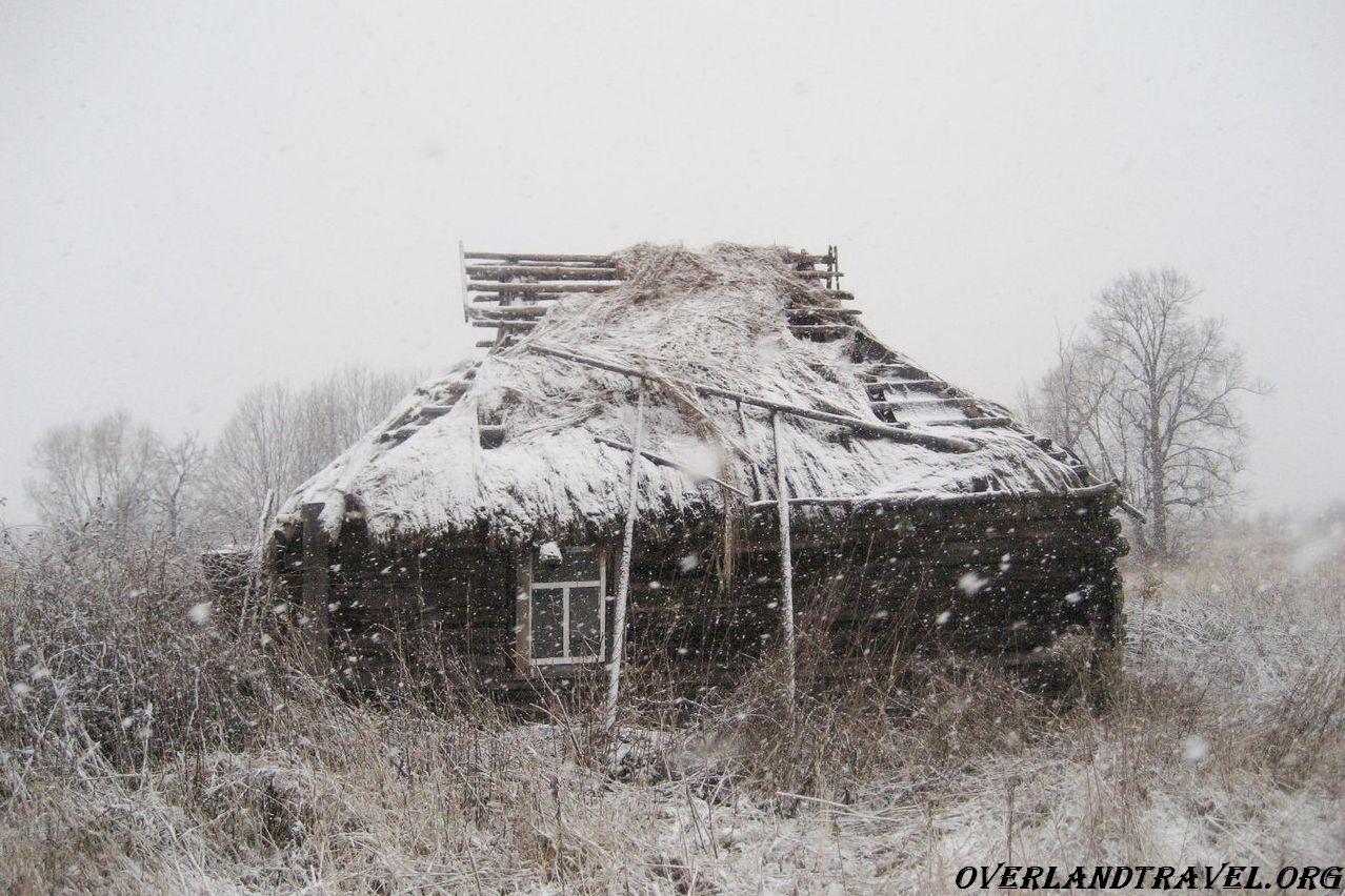 Russia, Smolensk region, an abandoned village Zholobovo