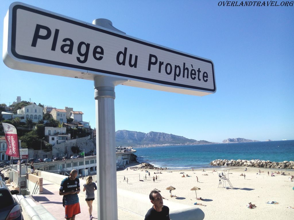 Marseille Plage du Prophète