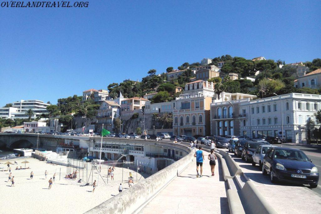 Marseille promenade Kennedy