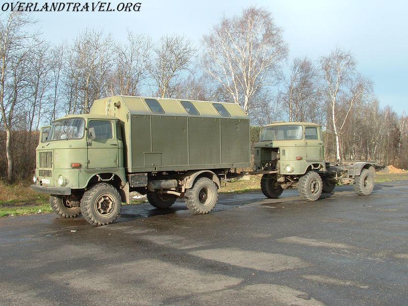 IFA-W50LA, IFA-W50 chassis