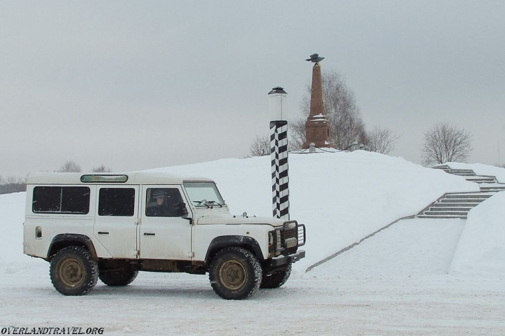 Land Rover Defender in Borodino