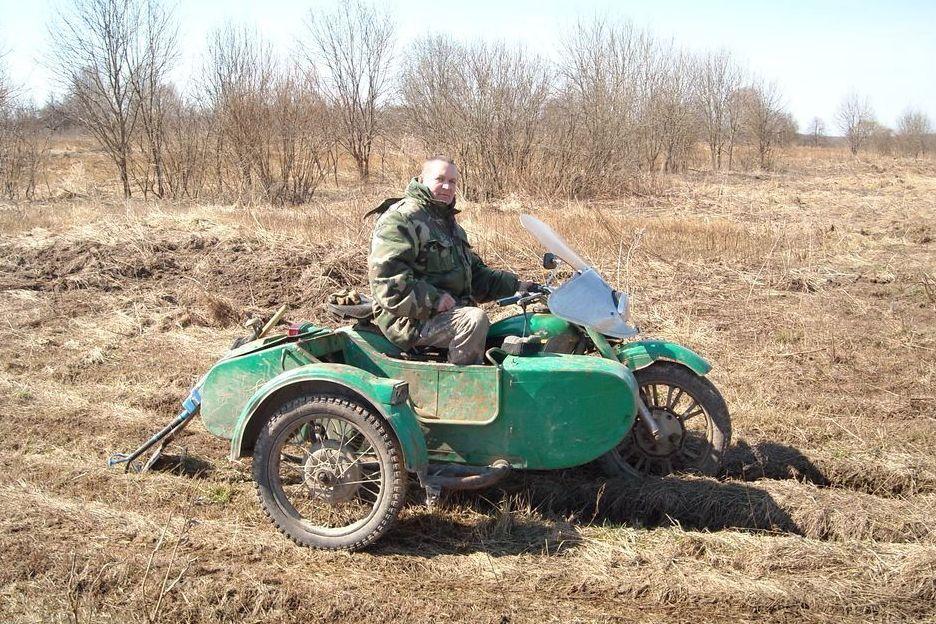 IFA-W50LA Kaluga region, Spas-Demensky District. Gnezdilovskaya height WWII.