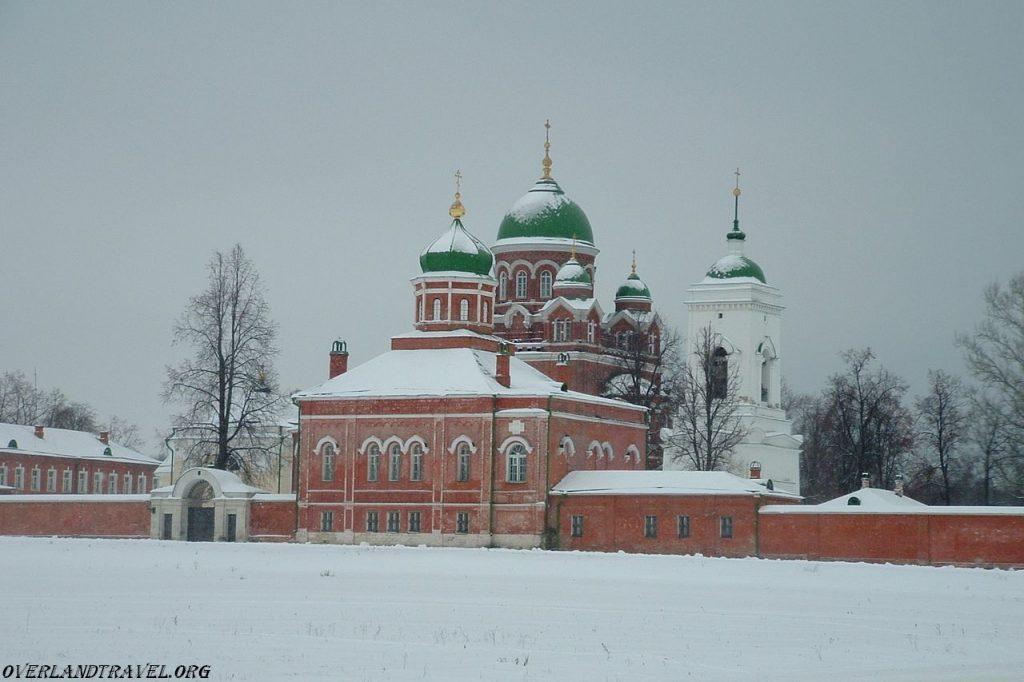 Russia, Spaso-Borodino Womens Monastery.