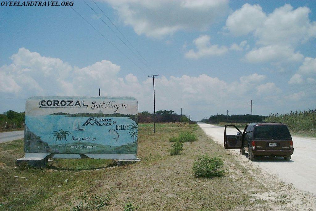 Overland travel Belize