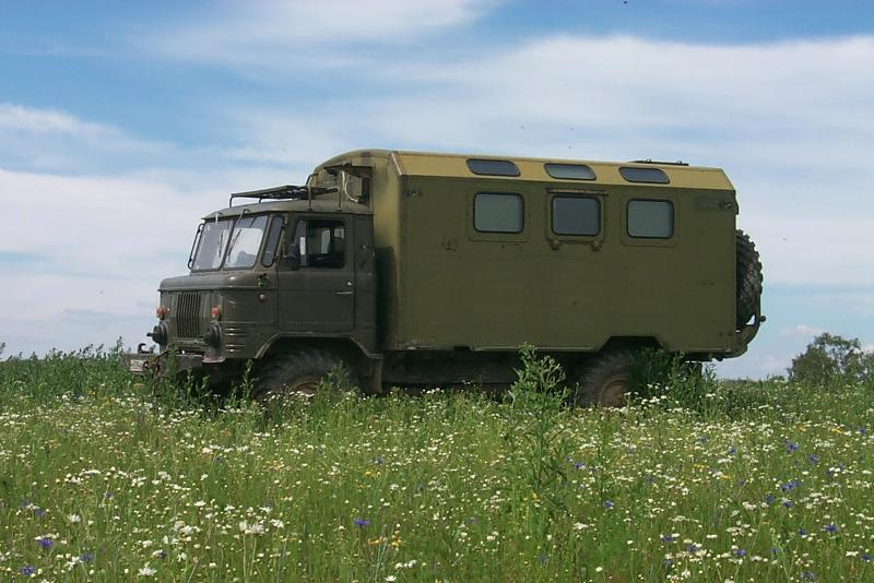 GAZ-66 - Soviet and Russian army truck with the wheel formula 4 × 4