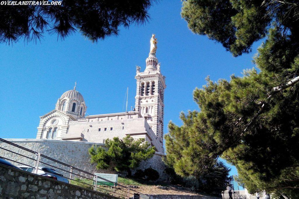 France, Marseille, Norte Dame de la Garde.