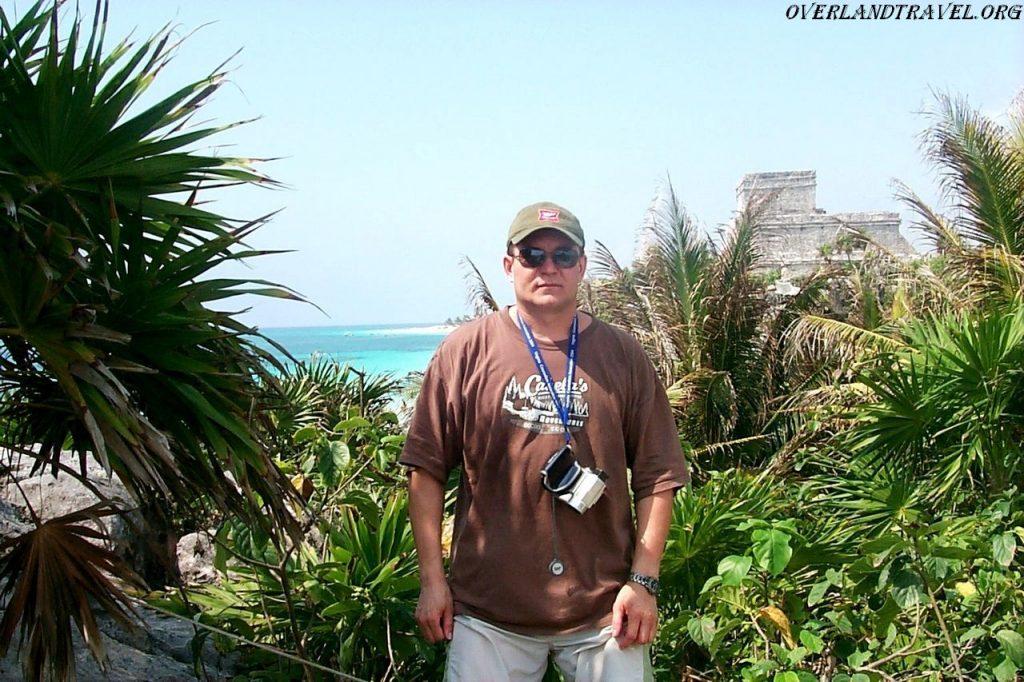 Tulum pre-Columbian Mayan city on the Yucatan Peninsula in Mexico