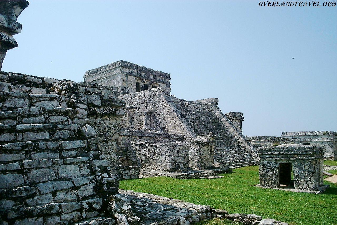 Nissan Panama City >> Tulum site pre-Columbian Mayan in coast Yucatan Peninsula, Caribbean Sea, Mexico.