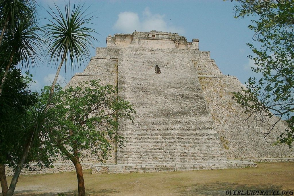 Uxmal Mexico, Pyramid of the Magician.