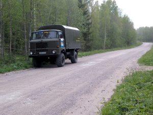 Ladoga trophy raid route passes through Leningrad Region and Republic of Karelia.