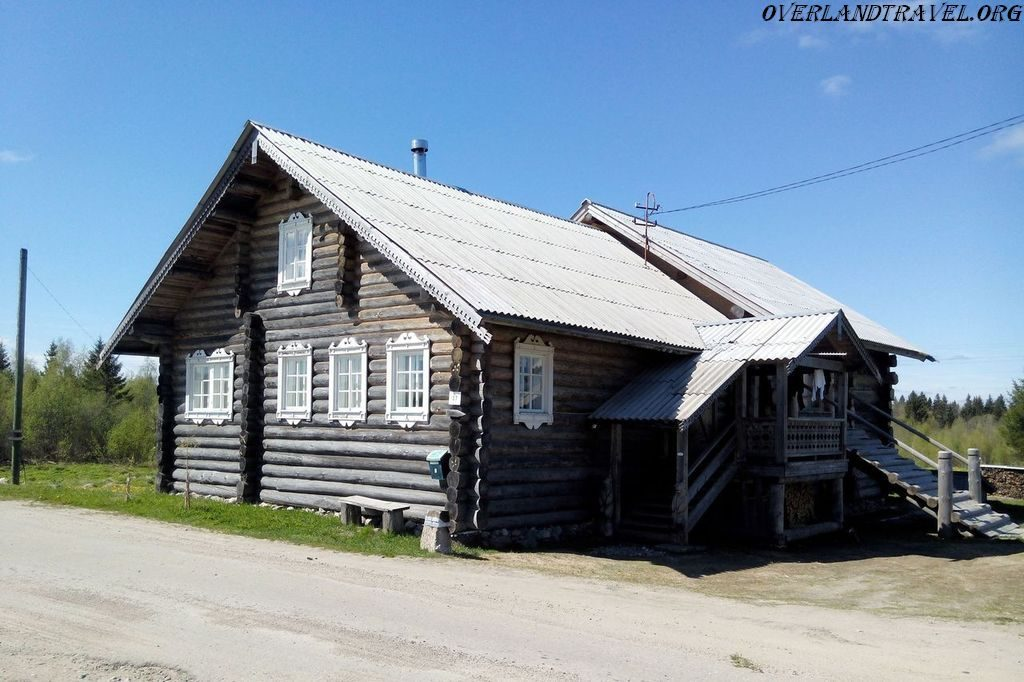 Kinerma historic village Karelia, Russia.