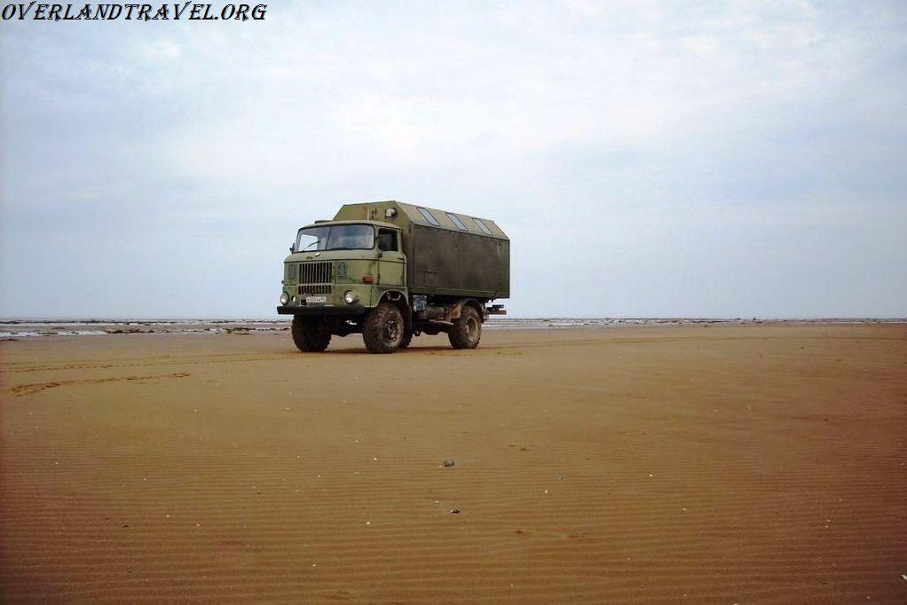 IFA-W50LA 4x4 on the White Sea