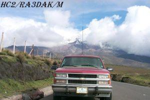 HC2/RA3DAK/M Chimborazo, Ecuador, South America.