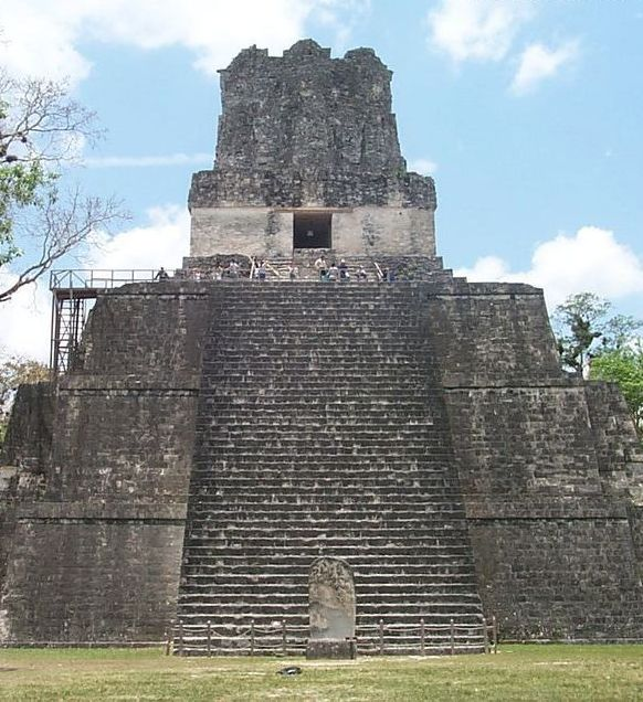 Tikal - one of the largest settlements of the Maya, is located in the El Peten Guatemala Province.